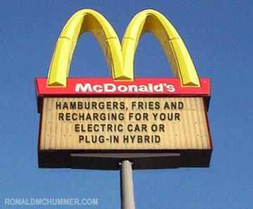 Electric Cars and Fast Food